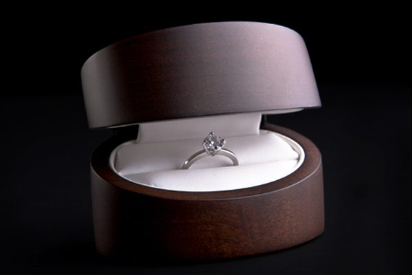 Diamond Engagement Ring Box